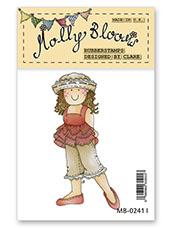Rubber Stamp - So Chic Molly