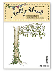 Rubber Stamp - Ivy Covered Tree