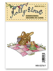 Rubber Stamp - Mollys Munchies