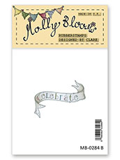 Rubber Stamp - Celebrate Banner